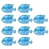 nawaish 10 humidificadores universales para tanque de peces compatibles con gotas, gotas, humidificadores adorables y cálidos, tanque de peces