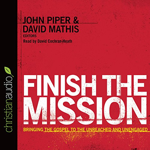 Finish the Mission audiobook cover art