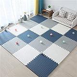 ALGWXQ Foam Kids Spielmatte Staubdicht Reißfestigkeit Bodenpuzzle Matte Benutzt für Babyzimmer,...