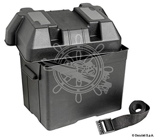 OSCULATI Boîte à Batterie en moplen Noir 95 A