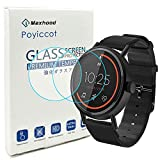 Poyiccot for Misfit Vapor 2 (41mm) Screen Protector Tempered Glass, 0.3mm...