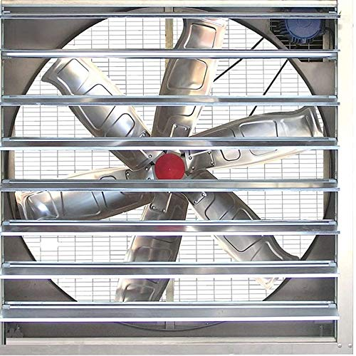 YWSZJ Cocina Inodoro Extractor de ventilación Ventana de Rejilla Ventiladores de extracción de Aire ventilación de Aire soplador de Ventanas Extractor de Metal