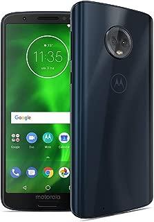 Motorola G6 – 32 GB – Unlocked (AT&T/Sprint/T-Mobile/Verizon) – Deep Indigo - (U.S. Warranty) - PAAE0011US