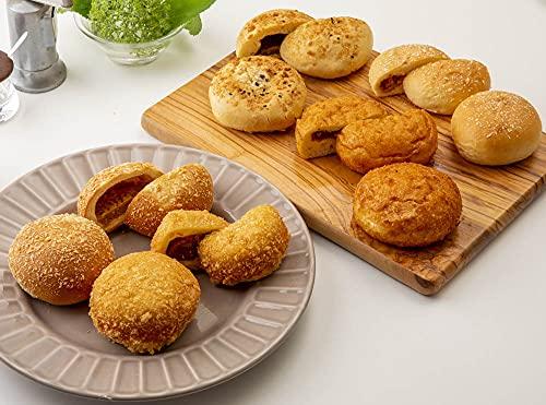 【パンフォーユー】大人気カレーパン食べ比べセット 地域の色々なパン屋さんの手作りパンを詰め合わせ 10個入り 焼きたての美味しさを冷凍でそのままお届け!