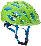 ALPINA Valparola XC–Casco de Bicicleta, Unisex, Valparola XC, Neon Green-Blue