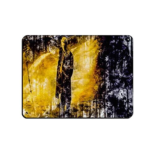 Cartel clásico de suspenso popular misterioso de la película de miedo primario 7 letrero de lata vintage de metal Pub Club Cafe bar Home Wall Art Decoración Poster Retro 30 x 40 cm