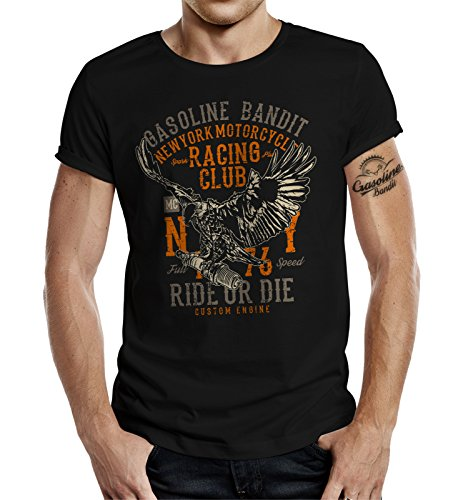 Biker Racer T-Shirt: New York Racing Club