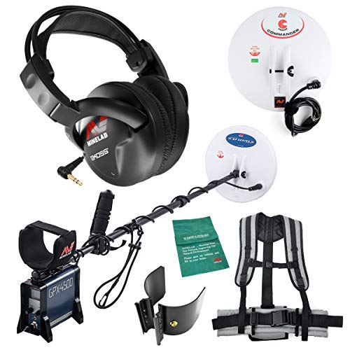 Minelab GPX 4500 Metal Detector for Relic and Gold Prospecting with 2 search...