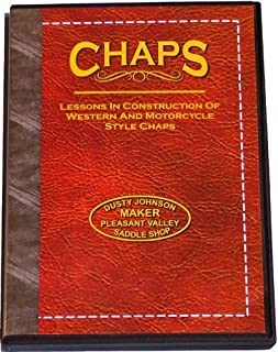 Chaps: Lessons in Construction of Western & Motorcycle Style Chaps (DVD)