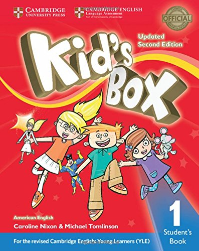 American Kids Box 1 - Students Book Updated - 02 Edition