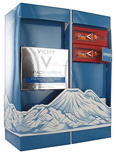 Vichy LiftActiv Supreme Anti-Falten und Härtekorrektur, trockene bis sehr trockene Haut, 50 ml + 2 Pflegemittel