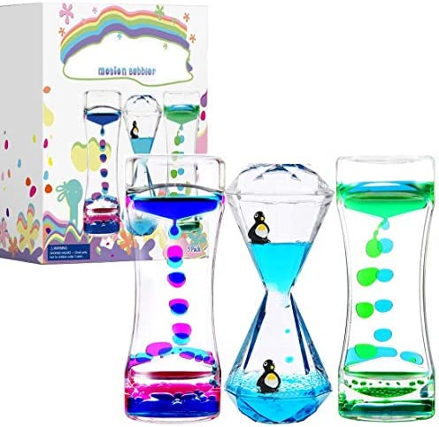 Calming Sensory Toys for Kids with Autism ADHD Anxiety or Special Needs 3 Pack Liquid Motion product image