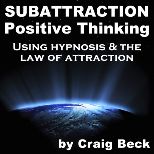 Subattraction Positive Thinking audiobook cover art