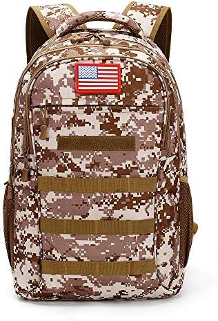 Camo school backpack _image2