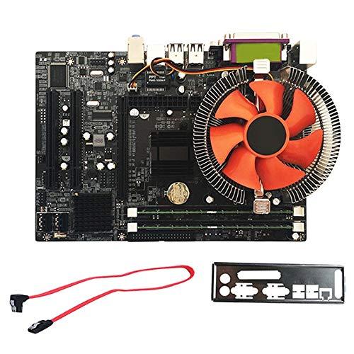 Iycorish G41 Desktop-moederbord voor Intel CPU met Quad Core 2.66G CPU E5430 + 4G geheugen + Fan ATX Computer Set voor het monteren van het moederbord