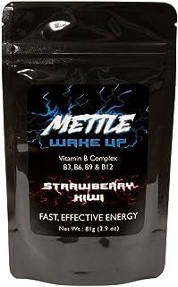Energy Drink Powder - 100 Servings | Sugar Free | 200mg Caffeine - Mettle Energy Drink Mix (Strawberry Kiwi)