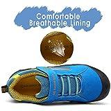 Mishansha Bambini Scarpe da Escursione Antiscivolo Scarpette da Trekking per Ragazzi Ragazze Confortable