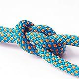 zhuangyif Cuerda para Escalar Azul 6mm Cuerda Estática Al Aire Libre Montañismo Montañismo Cuerda Auxiliar Agarrada Cuerda De Cuerda Cuerda De Cuerda Cuerda De Repuesto