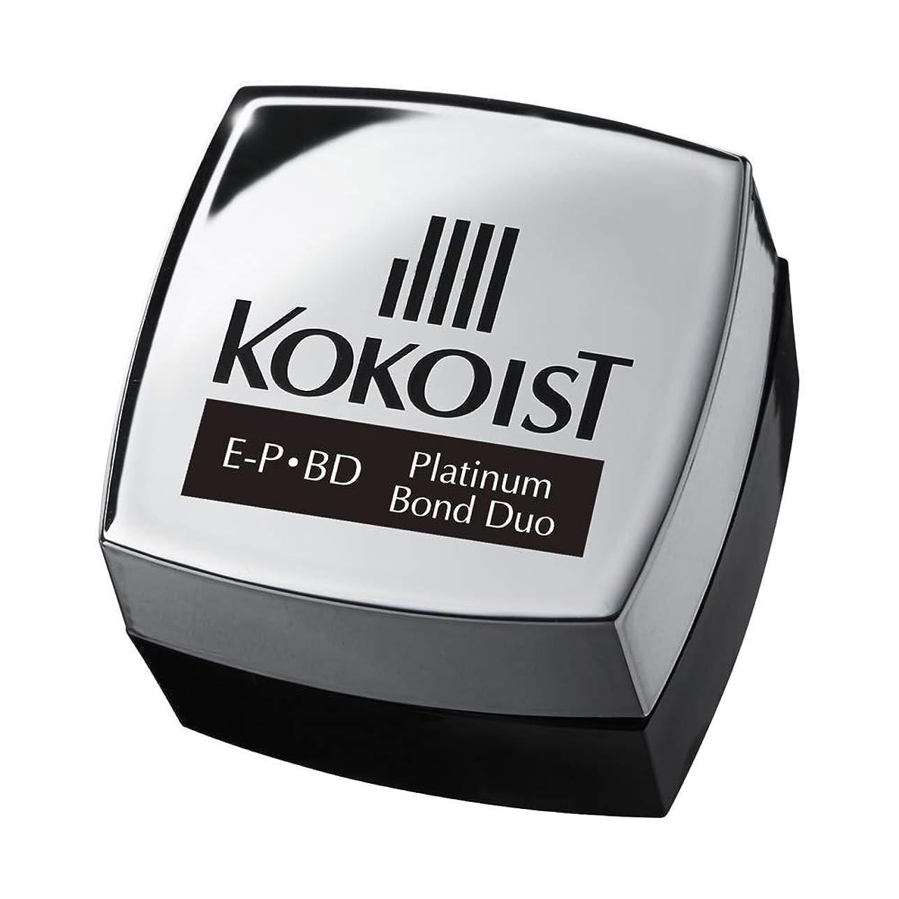 雑種粗い不実KOKOIST プラチナボンドデュオ 4g UV/LED対応