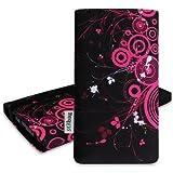 stilbag 'MIKA'Custodia per Samsung Galaxy S3 Neo, Motivo: Anelli, Colore: Rosa