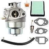 New GCV160 Carburetor + Air Filter Spark Plug for Honda GCV160 Engine HRB216 HRR216 HRS216 HRT216 HRZ216 Lawn Mower