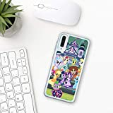 My little pony Samsung Galaxy Case A10 A20 A30 A40 A50 A70 M10 M20 M30 2019 Silicone hard Plastic Cover Clear Transparent movie characters horse toy pinkie pie game girls rainbow