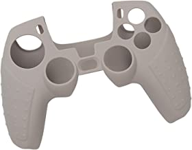 Homyl Capa protetora de silicone macio para controle PS5, fácil de instalar e remover - cinza