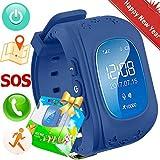 TurnMeOn GPS Tracker Bambini Smartwatch Phone per Ragazzi Ragazze con SIM Chiamate...