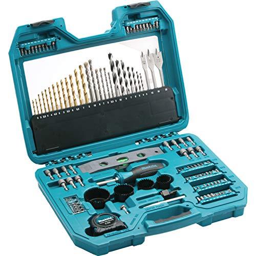 Makita P-90370 - Juego de accesorios para taladro y brocas (