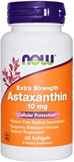 Now Foods Astaxanthin 10 mg - 60 Softgels