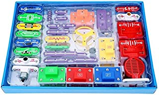 Perfeclan W-5889 Electronics Discovery Kit Kids DIY Blocks Science Educational Toy
