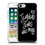 Head Case Designs Offizielle Riverdale Jughead Wuz Here Grafik Kunst Soft Gel Huelle kompatibel mit Apple iPhone 7 / iPhone 8 / iPhone SE 2020