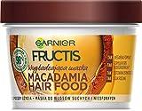 Garnier Fructis Macadamia Hair Food Mascarilla alisadora para cabello seco y...