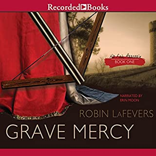 Grave Mercy audiobook cover art