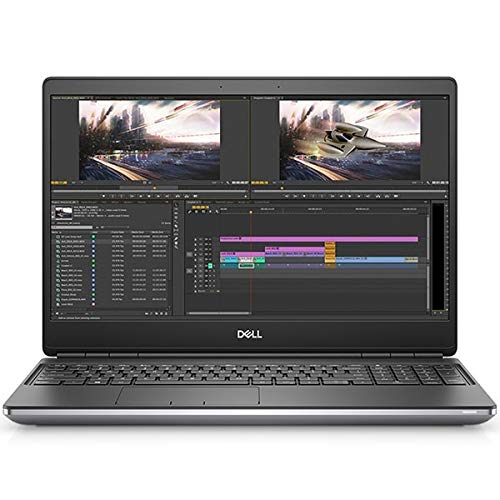 Dell Precision 15 7550 Mobile Workstation, Grey, Intel Xeon W-10885M, 128GB RAM, 2TB SSD, 15.6' 3840x2160 UHD, 4GB NVIDIA Quadro T2000, Dell 3 YR WTY + EuroPC Warranty Assist, (Renewed)