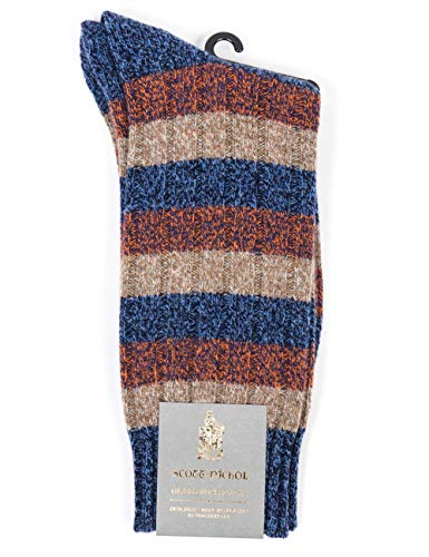 Scott Nichol Riddlesden Socks - Denim Marl Denm Marl Large
