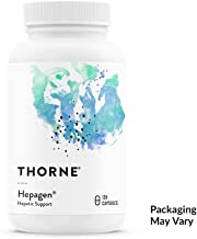 Thorne Research Veterinary - Hepagen - Hepatic Support with CurcuVET for Small Animals - 120 Capsules…