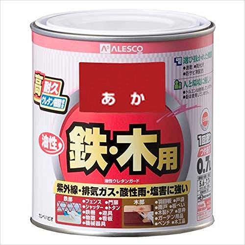 カンペハピオ 油性ウレタンガード(油性つやあり) 0.7L あか