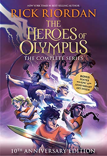 Compare Textbook Prices for The Heroes of Olympus Paperback Boxed Set 10th Anniversary Edition 10th Anniversary ed. Edition ISBN 9781368053099 by Riordan, Rick