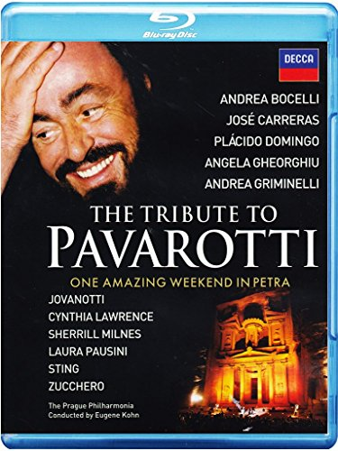 The Tribute to Pavarotti - One Amazing Weekend in Petra [Blu-ray]