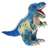 Fiesta Toys Blue T-Rex Tyrannosaurus Rex Dinosaur Plush Stuffed Animal Toy - 19 inch