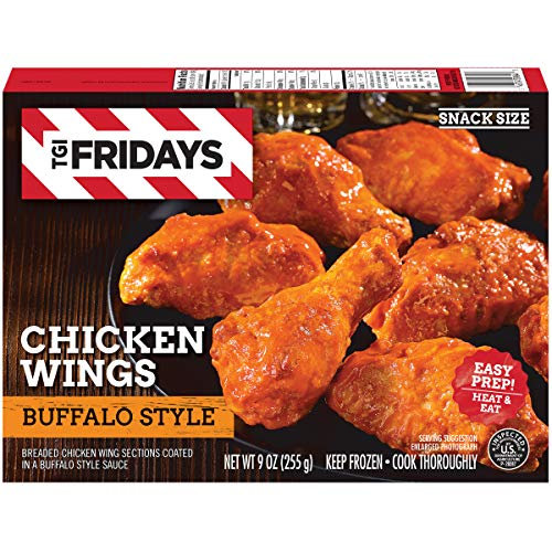 TGI Fridays Buffalo Style Chicken Wings (9 oz Box)