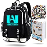 Petina My Hero Academia Luminous Backpack with USB...