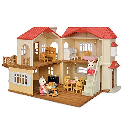 Calico Critters Country Home is is one of the best toys for preschool girls