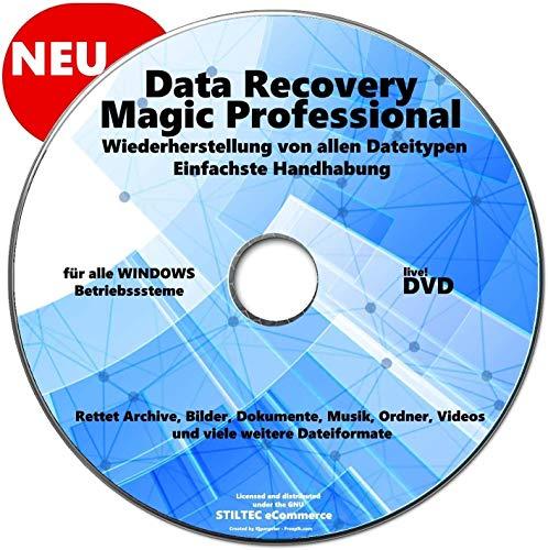 Data Recovery für PC - [DVD] Data Recovery MAGIC PRO WIN Wiederherstellung Gelöschter Daten, Fotos, Bilder, Datenrettung, Recovery, PC NEU