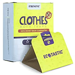 CLOTHING MOTH TRAPS (11 PACK)! Moths can be tricky to get rid of! They love finding themselves in your closets/drawers ruining your clothes! Fix your moth problem now using our traps! The formula of our moth traps includes a strong scent to attract m...