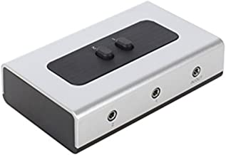 Best audio input selector switch box Reviews