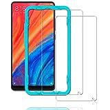 Ibywind Protector Pantalla Xiaomi Mi Mix 2S [2 Piezas] [Fácil de Instalar] [Garantía de por Vida], Cristal Templado 9H Dureza [3D Touch Compatible], Anti-Huella para Xiaomi Mi Mix 2S