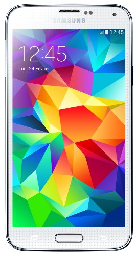 avis samsung s5 professionnel Samsung Galaxy S5 Unlock 4G Smartphone (Écran: 5.1 pouces – 16 Go – Android 4.4.2 KitKat) Blanc