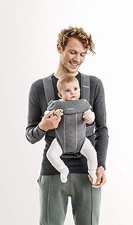 BABYBJORN Baby Carrier Mini, 3D Jersey, Dark Grey